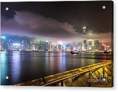 Hong Kong Stunning Skyline Acrylic Print