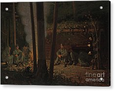 In Front Of Yorktown Acrylic Print
