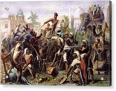 India: Sepoy Mutiny, 1857 Acrylic Print by Granger
