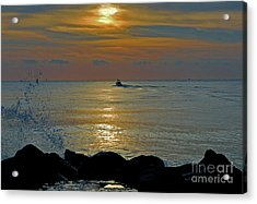 Acrylic Print featuring the photograph 4- Into The Day by Joseph Keane