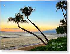 Acrylic Print featuring the photograph Island Sunrise by Kelly Wade