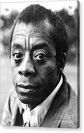 James Baldwin (1924-1987) Acrylic Print