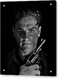 James Cagney - A Study Acrylic Print