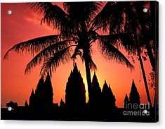 Java, Prambanan Acrylic Print by Gloria & Richard Maschmeyer - Printscapes