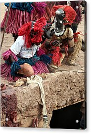 Koundou Dogomo 2007 Acrylic Print by Huib Blom
