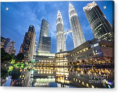 Kuala Lumpur Petronas Towers Acrylic Print