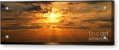 Lake Erie Sunset Acrylic Print