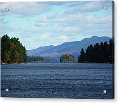 Lake Acrylic Print by Kate  Leikin