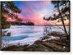 Lake Winnipesaukee Acrylic Print by Robert Clifford