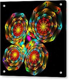 4-leaf Clover Acrylic Print