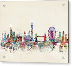 London City Skyline Acrylic Print