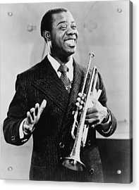 Louis Armstrong 1901-1971, African Acrylic Print