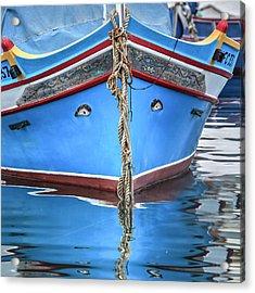 Luzzu - Malta Acrylic Print by Joana Kruse