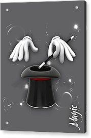 Magic Collection Acrylic Print by Marvin Blaine