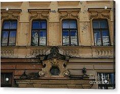 Magnificent Riga  Acrylic Print by Valia Bradshaw