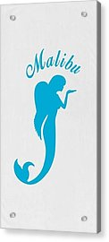 Malibu Mer Angels Acrylic Print by Chrystyna Wolford