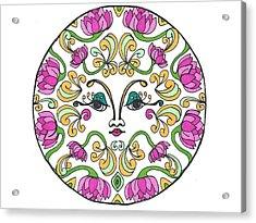 Lotus Princess Acrylic Print