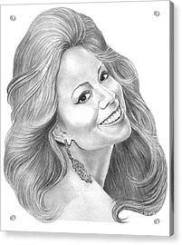 Mariah Carey  Acrylic Print