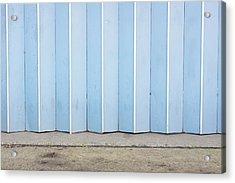 Metal Door Acrylic Print by Tom Gowanlock