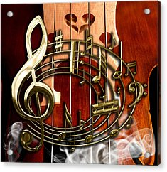 Musical Collection Acrylic Print