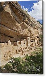 Native American Cliff Dwellings Acrylic Print by Bryan Mullennix