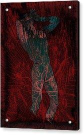 Nude Man Acrylic Print