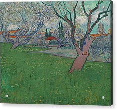 Orchards In Blossom, View Of Arles Acrylic Print