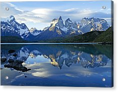 Patagonia Reflection Acrylic Print