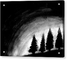4 Pines Acrylic Print