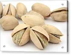 Pistachios Acrylic Print by Blink Images