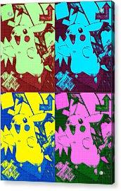 Pokemon - Pikachu Acrylic Print by Kyle West
