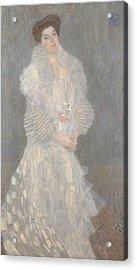 Portrait Of Hermine Gallia Acrylic Print