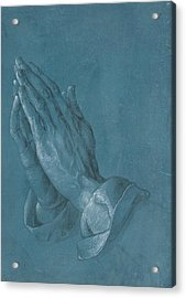 Praying Hands Acrylic Print