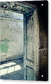 Prison Light And Shadows Acrylic Print by JAMART Photography