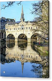 Pulteney Bridge, Bath Acrylic Print