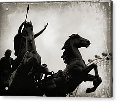 England's Queen Boudica  Acrylic Print by JAMART Photography