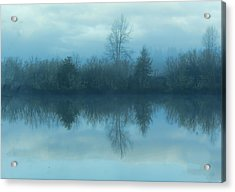 Reflections Acrylic Print by Cathy Anderson