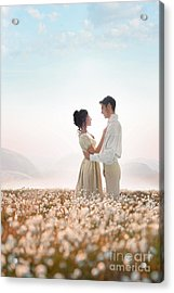Acrylic Print featuring the photograph Regency Couple by Lee Avison