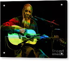 Richie Havens Collection Acrylic Print
