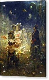 Sadko Acrylic Print by Ilya Repin