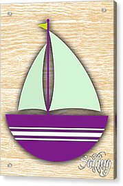 Sailing Collection Acrylic Print by Marvin Blaine