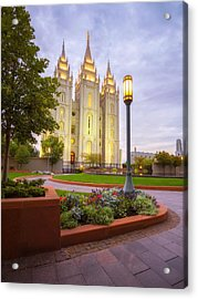 Salt Lake Temple Acrylic Print