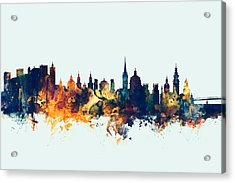 Salzburg Austria Skyline Acrylic Print