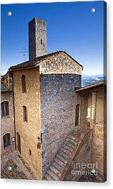 San Gimignano Acrylic Print by Andre Goncalves