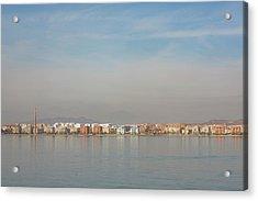 Shoreline Reflections Acrylic Print