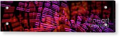 Singapore Night Urban City Light - Series - Your Singapore Acrylic Print by Urft Valley Art