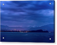Acrylic Print featuring the photograph Sirmione by Traven Milovich