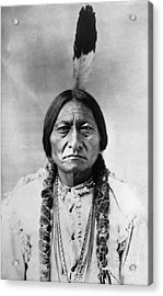 Sitting Bull 1834-1890. To License For Professional Use Visit Granger.com Acrylic Print