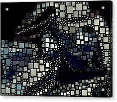 Squares Acrylic Print by HollyWood Creation By linda zanini