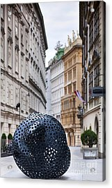 Streets Of Vienna Acrylic Print by Andre Goncalves